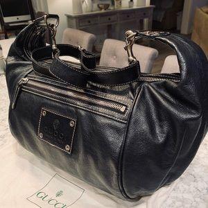 AMAZING Gucci Leather Hobo Crossbody Bag